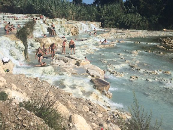 Terme di Saturnia Tuscany Italy travel planning planner consultant guided tours women