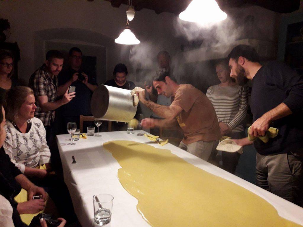 italian cooking italy travel tips polenta party